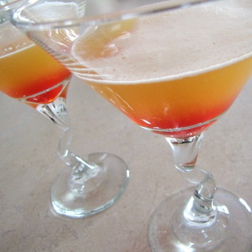 Gluten-Free Pineapple Upside Down Martini