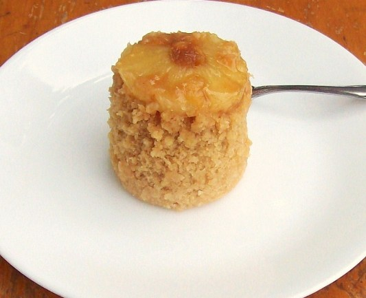 Gluten-Free Pineapple Upside Down Microwave Mug Cake