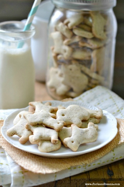 Gluten-Free Vegan Animal Crackers