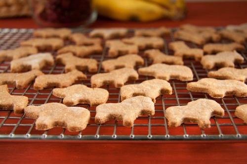 Gluten-Free Vegan Banana Bread Animal Crackers Recipe
