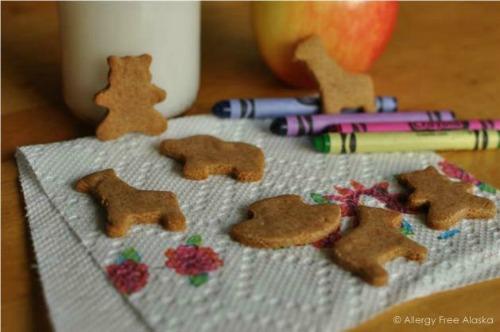 Gluten-Free & Paleo Animal Crackers Recipe