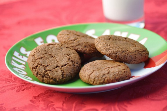 Soft Molasses Cookies Gluten Free Vegan
