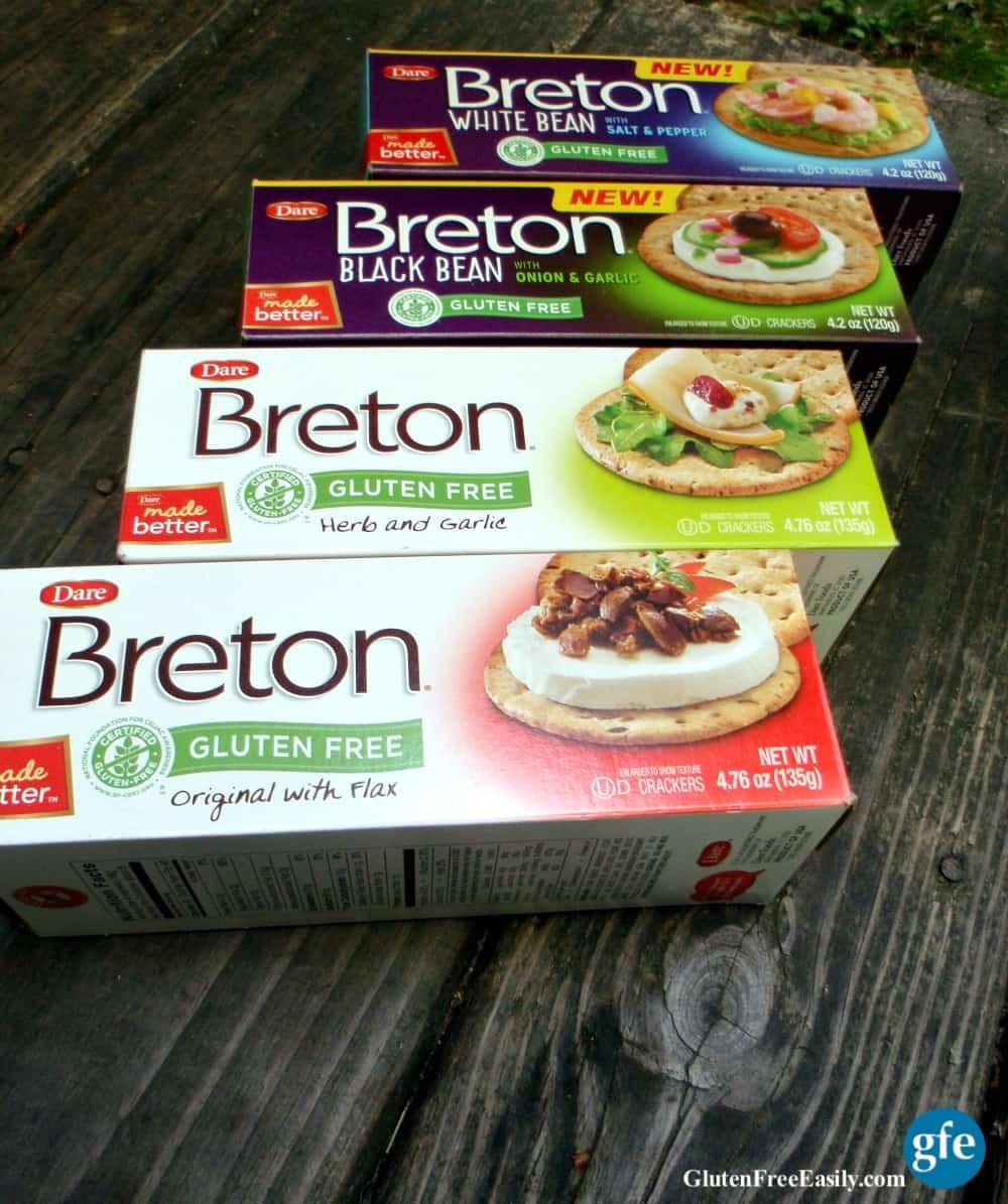 Breton Gluten-Free Crackers Four Flavors