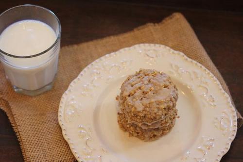 Gluten-Free Cinnamon Roll Oatmeal Breakfast Cookies