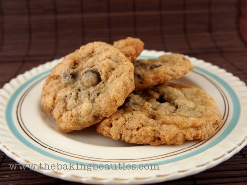 Gluten-Free Crisp Oatmeal Cookies