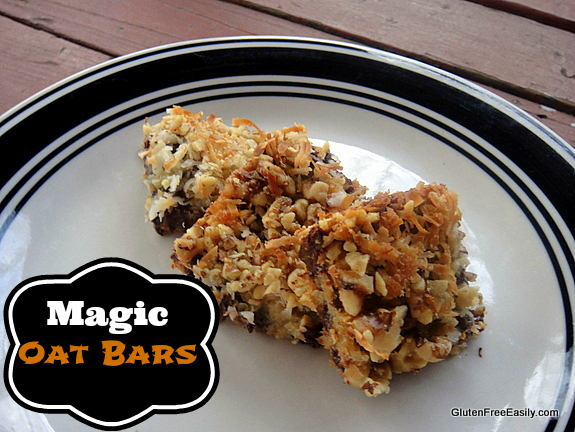 Gluten-Free Magic Bars Oat Bars