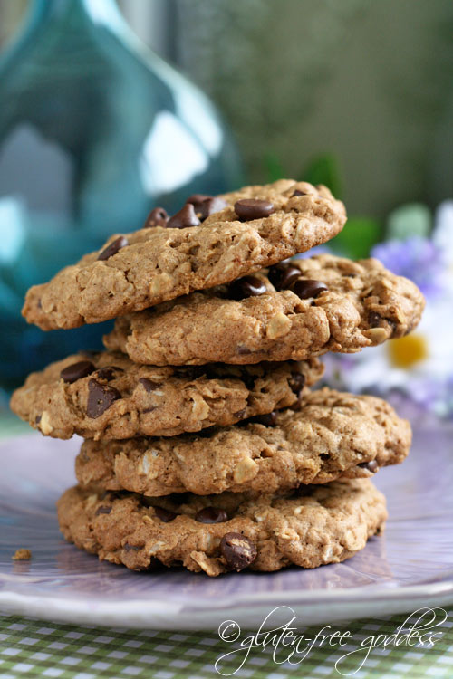Gluten-Free Oatmeal Chocolate Chip Cookies Gluten-Free Goddess