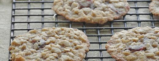 Gluten-Free Oatmeal Lace Cookies