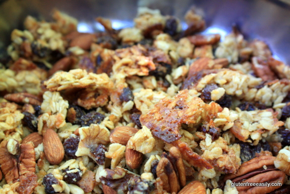 Gluten-Free Oatmeal Raisin Cookie Granola