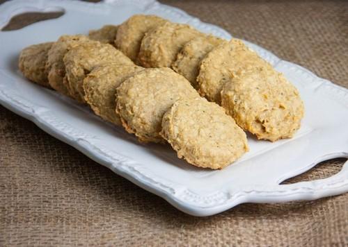 Gluten-Free Pumpkin Hemp Oatmeal Cookies