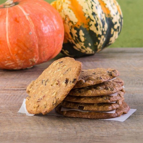 Gluten-Free Pumpkin Pie Oatmeal Cookies