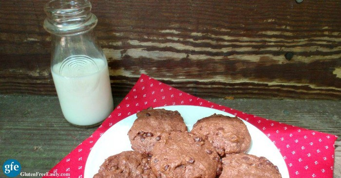 Flourless cookies are soft and smooth in texture and rich in flavor. These gluten-free Nutella Chocolate Chip Cookies prove that once again! [from GlutenFreeEasily.com]