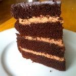 Dark Chocolate Layer Cake (Paleo)