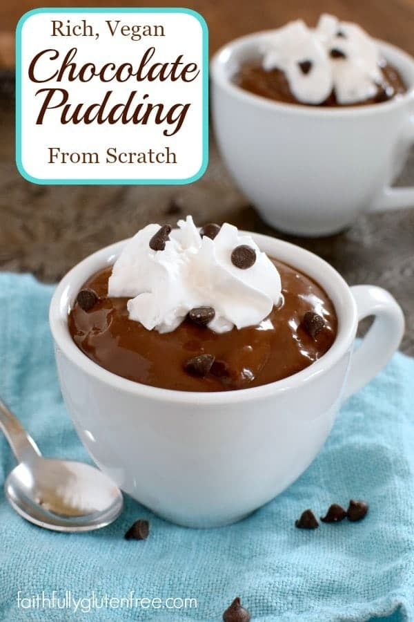 Rich Vegan Chocolate Pudding