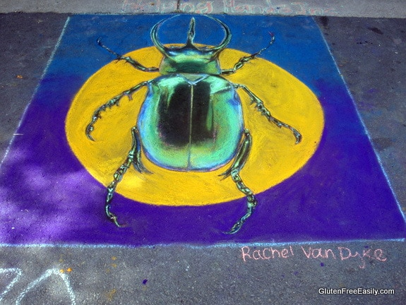Beetle Painting Rendition Via Colori Fredericksburg VA