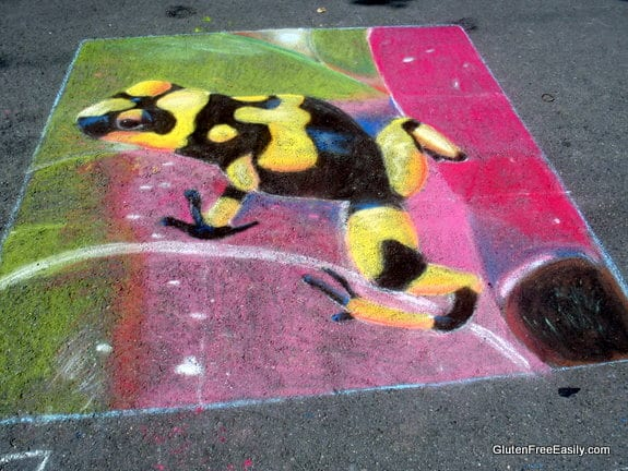 Frog Painting Rendition Via Colori Fredericksburg VA