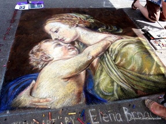 Mother and Child Painting Rendition Via Colori Fredericksburg VA