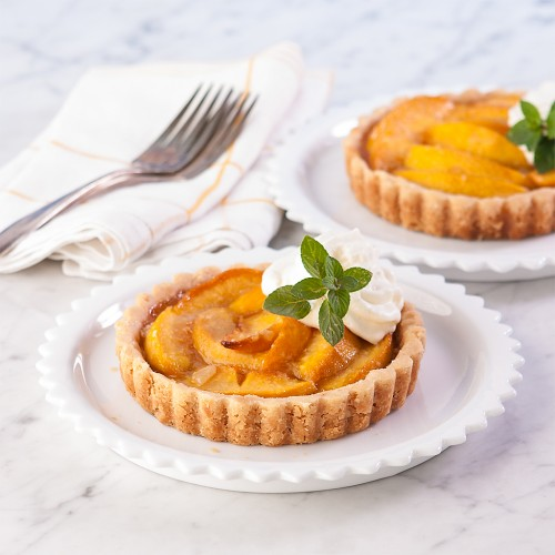 Almond Peach Mini Tarts (Gluten Free)