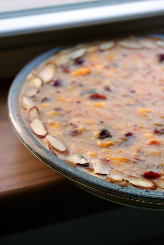Peach Cranberry Pie (Gluten Free, Vegetarian)