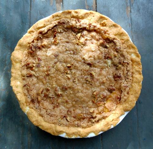 Peach Pecan Pie (Gluten Free)