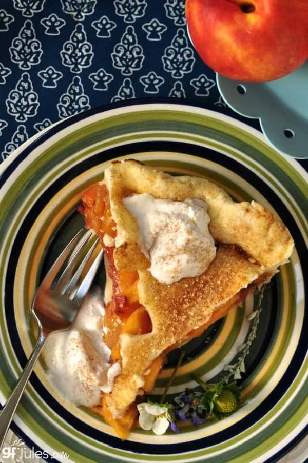 Gluten-Free Peach Pie