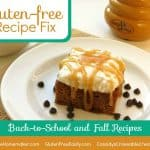Gluten-Free Recipe Fix:  Back to School and Fall Edition