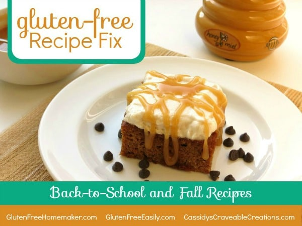 Fall and Back-to-School Recipes for Gluten-Free Recipe Fix