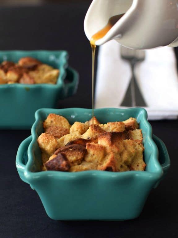 Gluten-Free 5-Ingredient Mini Maple French Toast Casseroles