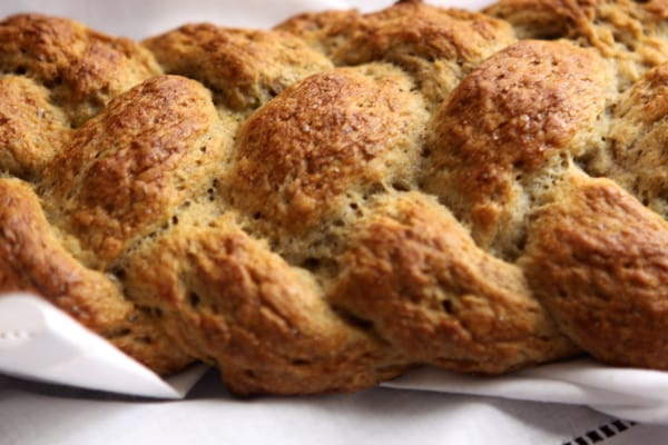 Challah Braided Bread (Gluten Free and Vegan)