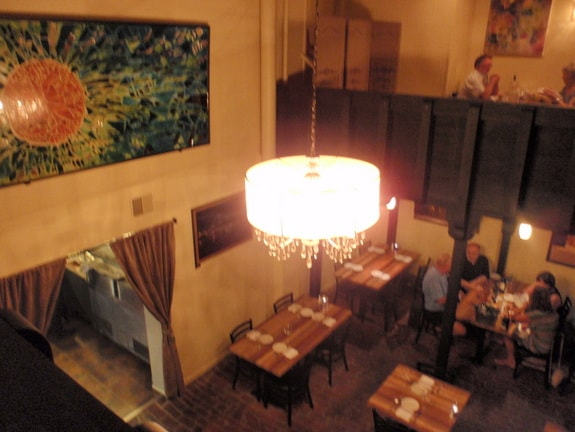 Da Soli Restaurant Looking Down From Upstairs Haddonfield NJ