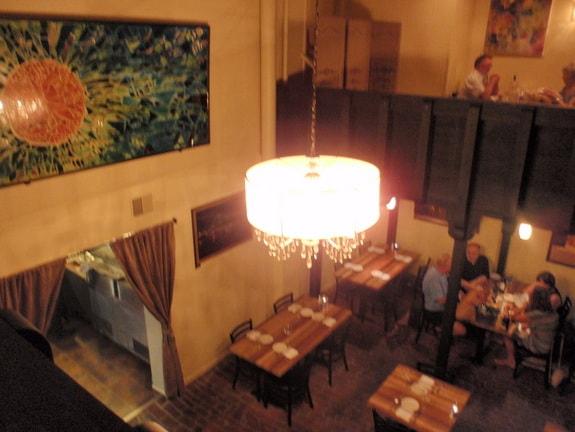 Da Soli Restaurant Looking Down From Upstairs Haddonfield NJ