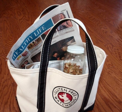 Harvest Trail Mix Packed In Gluten-Free Watchdog Bag