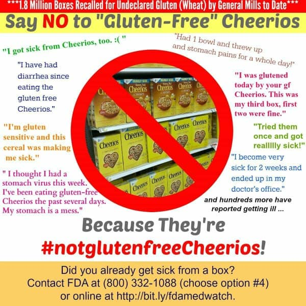 Stop Eating Gluten-Free Cheerios.