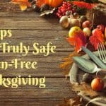 5 Tips for a Safe, Gluten-Free Thanksgiving (or Any Group Event)