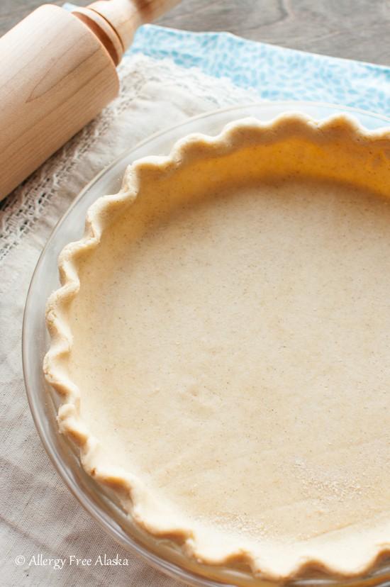 Best Gluten-Free Flaky Pie Crust Vegan