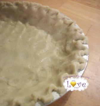 Easy As Pie Gluten-Free Pie Crust