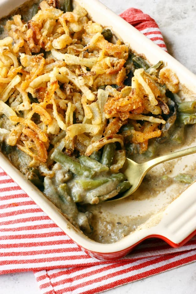 Gluten-Free Dairy-Free Green Bean Casserole from Flo and Grace