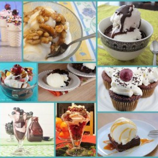 When you want ice cream, but you want to try something new, make one of these fabulous Ice Cream Sundaes! Gluten free, with dairy-free, vegan, and paleo options.
