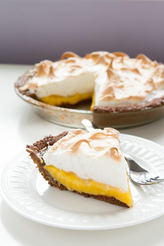 Gluten-Free Nut-Free Pie Crust Lemon Meringue