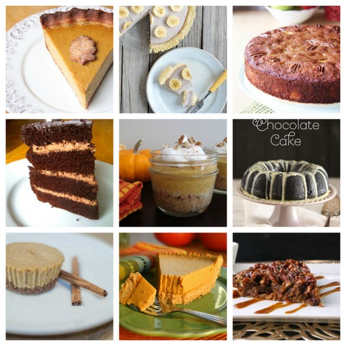 Which one (or three!) will you choose? 30 Gluten-Free and Paleo Thanksgiving Dessert Recipes