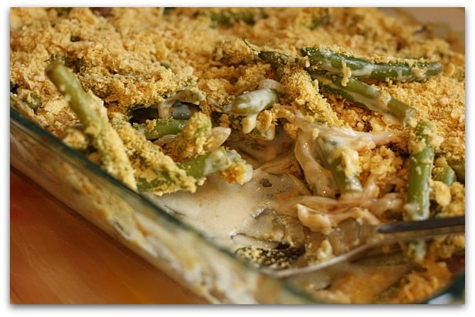 Gluten-Free and Vegan Green Bean Casserole