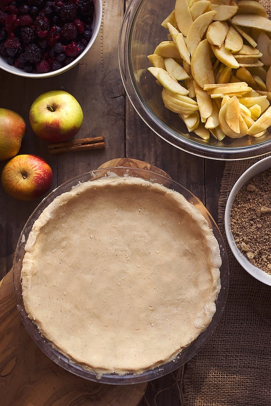 Grain-Free Cassava Flour Pie Crust