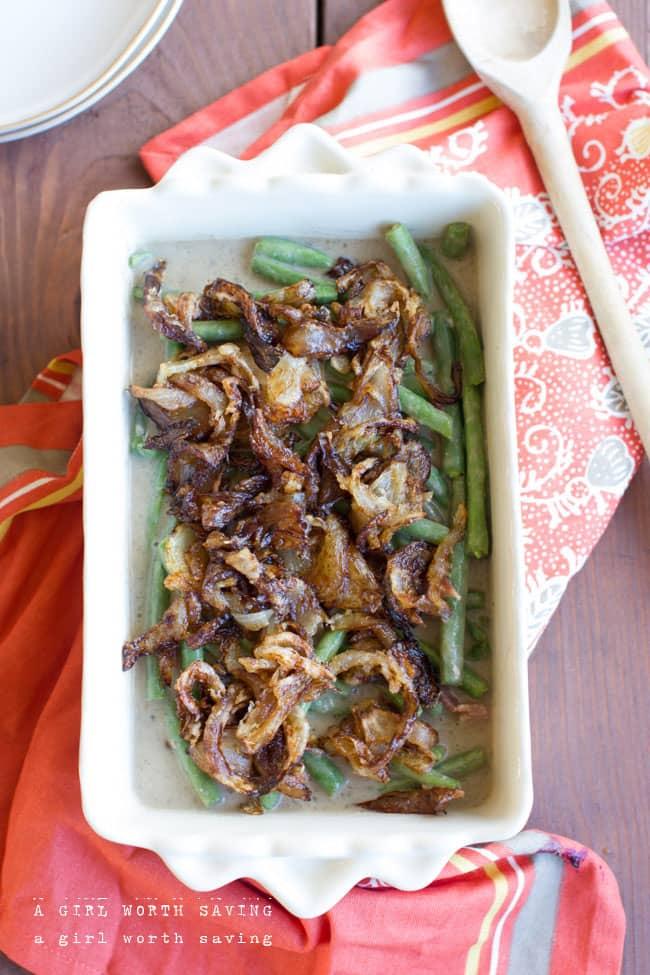 Best Green Bean Casserole (Gluten Free, Paleo)