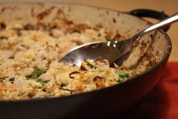 Green Bean Casserole from Scratch! (Gluten free, grain free, egg free, vegetarian)