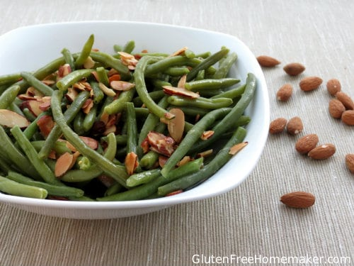Gluten-Free Green Beans Almandine
