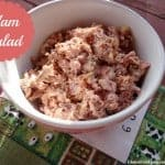 Ham Salad is really an easy and wonderful way to use leftover ham from Thanksgiving, Christmas, Easter, or any event where ham is served. It's a naturally gluten-free recipe as long as you start with gluten-free ham (most are; check ingredients) and gluten-free, uncontaminated mayo. [from GlutenFreeEasily.com]