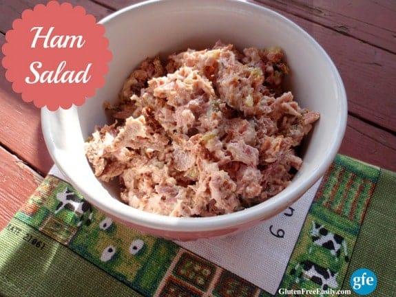 Ham Salad (Gluten Free)