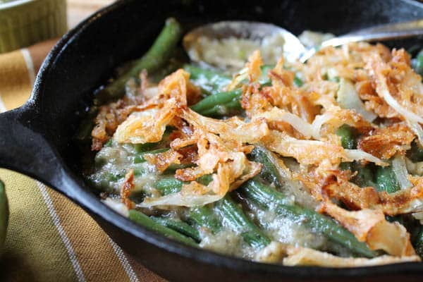Homemade Gluten-Free Green Bean Casserole (No Cans!)