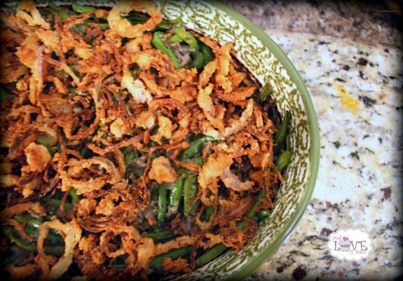 Paleo Green Bean Casserole (Gluten Free and More)