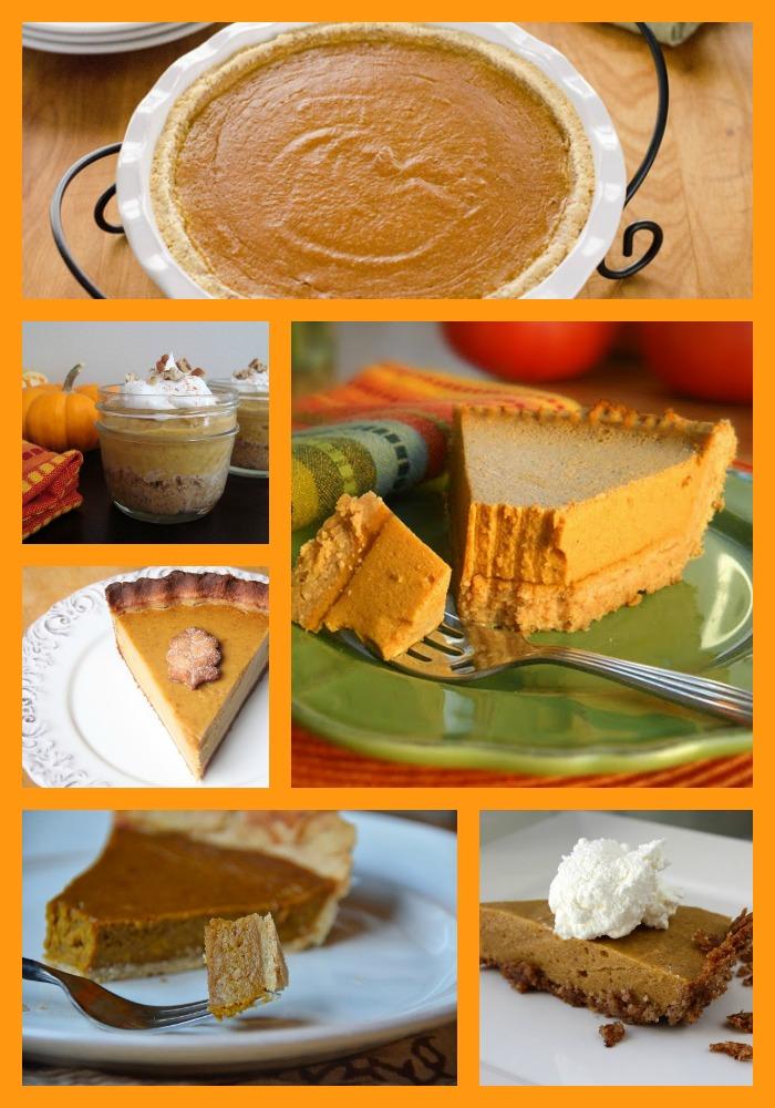 Paleo Pumpkin Pie Recipes